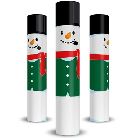 holiday snowman column wrap allenhomedesign