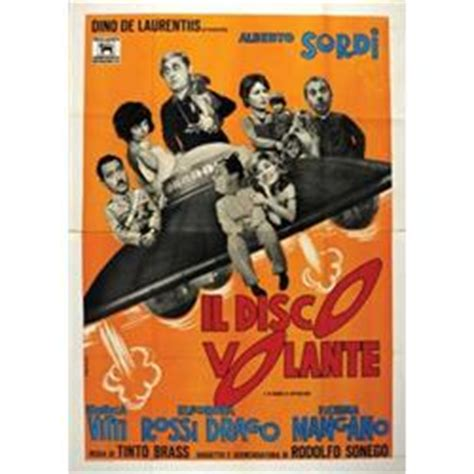 il disco volante italian poster a sordi il disco volante