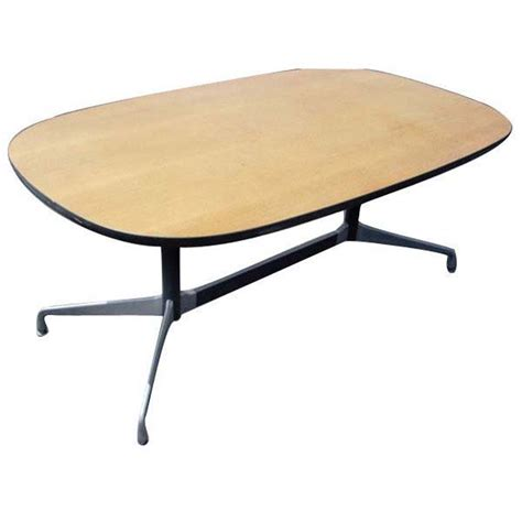 herman miller eames dining table 5ft x 3ft herman miller eames racetrack dining table ebay