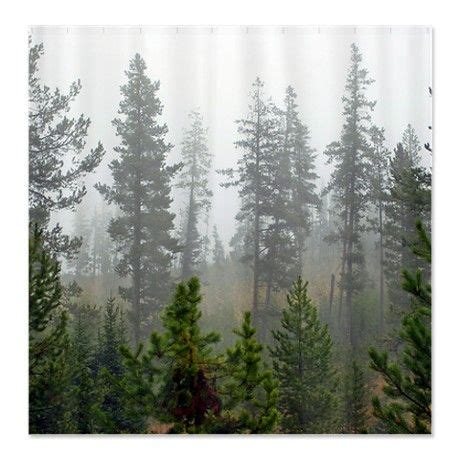 shower curtain forest misty forest shower curtain on