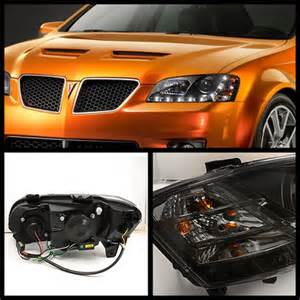 Pontiac G8 Aftermarket Headlights Pontiac G8 Pro Yd Pg808 Drl Bk By Spyder 4 Review