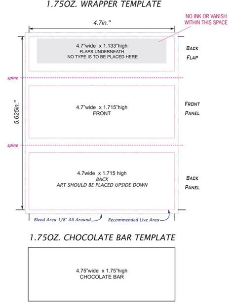 baby shower wrappers templates free bar wrapper template for word beepmunk