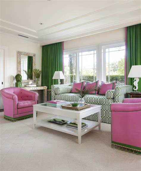 pink and green room design ideas