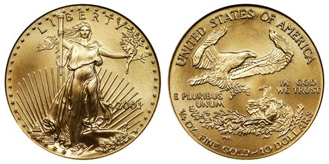 10 Gram Silver Coin Price In Usa - 2001 p american gold eagle bullion coins 10 quarter ounce