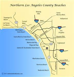 map of beaches in southern california hermosa directions california s best beaches