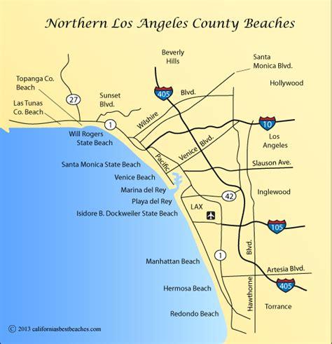 california map of beaches hermosa directions california s best beaches