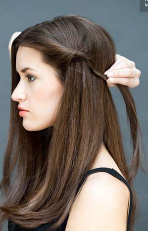 Penjepit Rambut Pesta membuat gaya rambut cantik dan sederhana dalam waktu 10