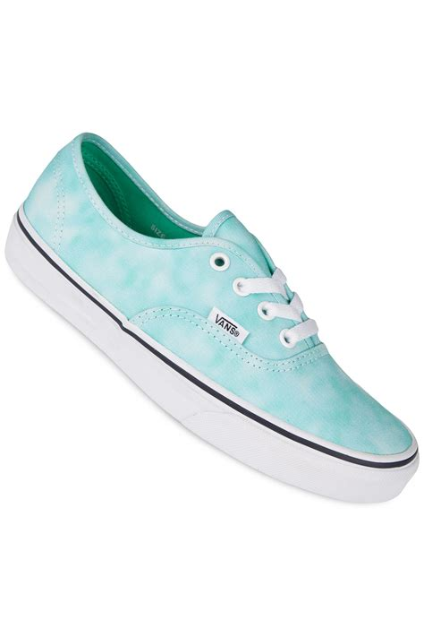 Turquoise Shoes by Vans Authentic Shoe Tie Dye Turquoise Buy At
