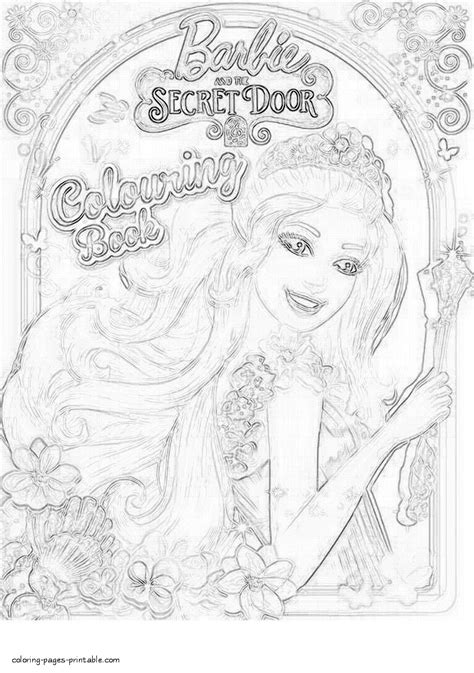 coloring pages of barbie and the secret door drawn barbie barbie and the secret door pencil and in