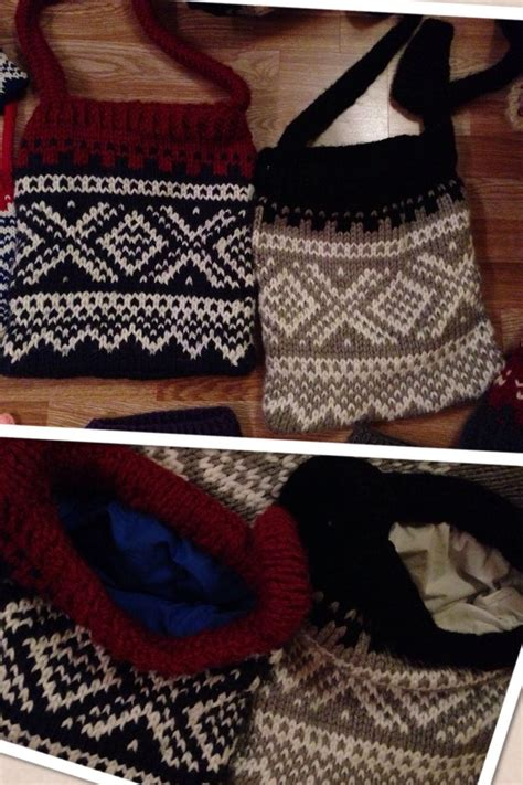 marius pattern english knitted bags marius pattern pinterest