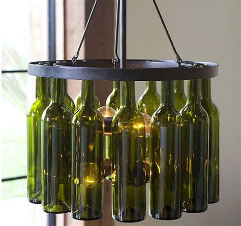 Glass Bottle Chandelier Upcycling Jars Image Gallery Arts Crafts More By