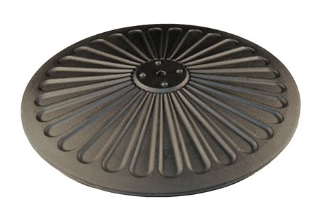 high top table base scalloped disc caf high top table base 3 sizes for the