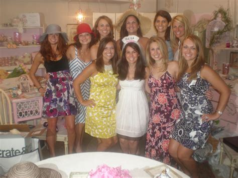 What To Wear To A Tea Bridal Shower by Bridesmaids How To August 2010
