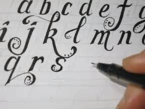 lower fancy letters how to prepare the lines before