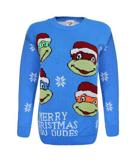 knitting pattern for ninja turtles jumper kids knitted turtle ninja christams xmas olaf minion