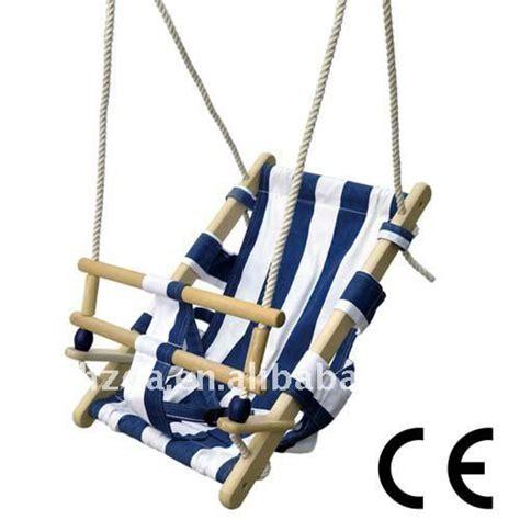 fabric swings blue fabric baby swing babygoodies pinterest
