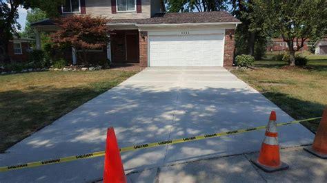 driveways reliable custom concrete inc