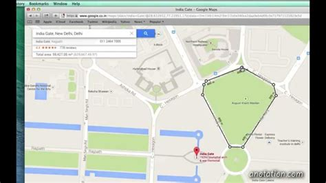 area calculater how to measure distance and area in google maps youtube