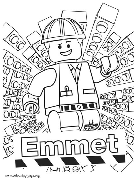 coloring pages lego movie emmet meet emmet he is the main character of the lego movie