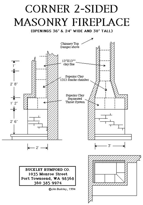 fireplace plans multi sided fireplace plans instructions
