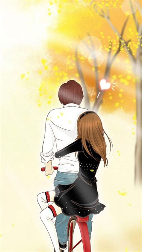 couple wallpaper for android mobile iphone 5 hd wallpapers anime comic 640 215 1136 cute