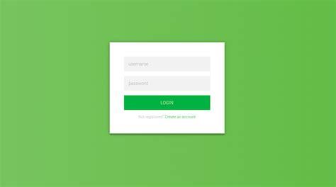 desain form input dengan css 20 desain form login html5 dan css3 gratis untuk website