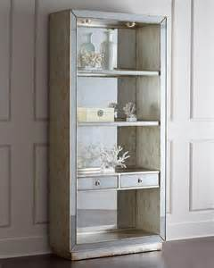 Mirror Bookcase John Richard Collection Regent Mirrored Bookcase I Horchow