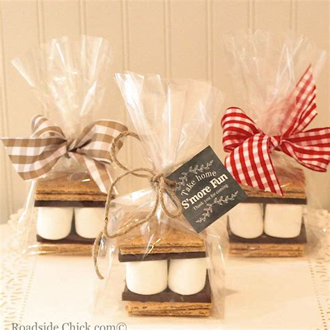 diy theme bridal shower favors s mores favor kit diy favor kit wedding favors cowboy baby shower favors from