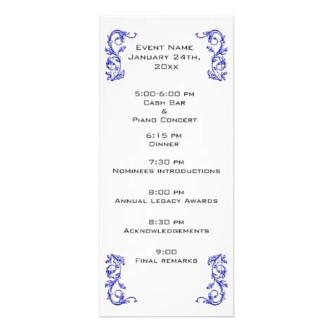 program templates for events event program template tristarhomecareinc
