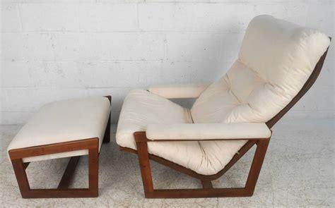 Unique Ottomans Sale Unique Mid Century Modern Teak Frame Lounge Chair With