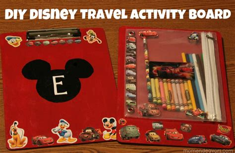 diy disney crafts diy disney craft travel coloring activity board