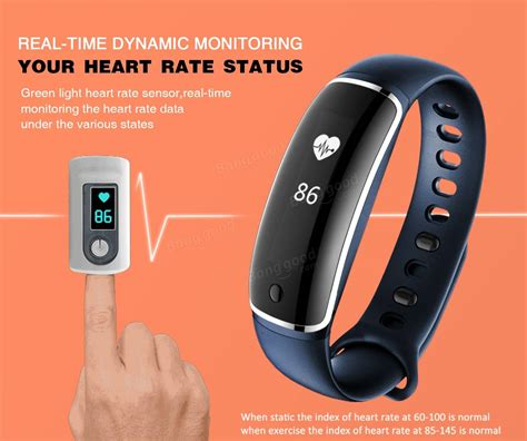 LYNWO M4 Health Blood Pressure Band Heart Rate Monitor Wristband Bracelet Sale   RC Toys & Hobbies