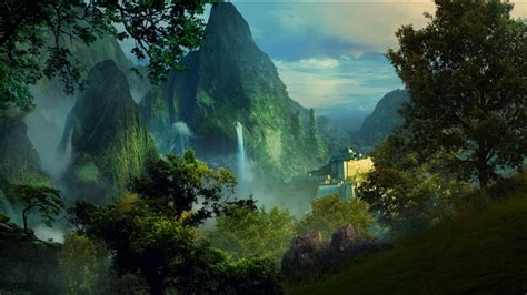 wallpaper hp landscape fantasy wallpaper hd hd fantasy hd wallpapers download