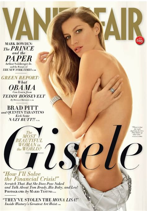 Gisele Bundchen Vanity Fair by Gisele Bundchen Means Business The Names Boston
