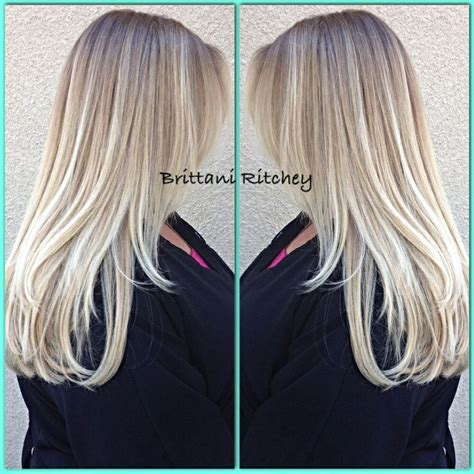 age for icy blonde hair 29 best hair blonde ombre balayage color melt images on