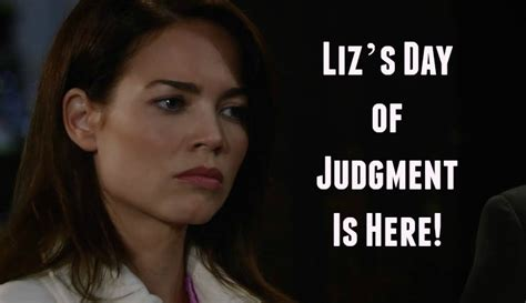 s day liz general hospital spoilers liz s day of judgment is