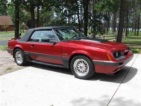 1986 ford mustang overview cargurus