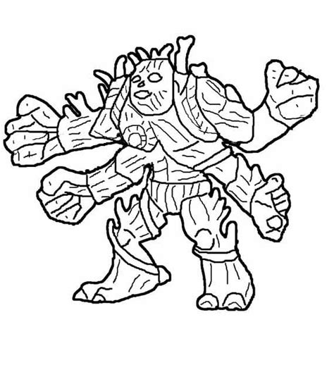 Animations A 2 Z Coloring Pages Of Gormiti Gormiti Coloring Pages
