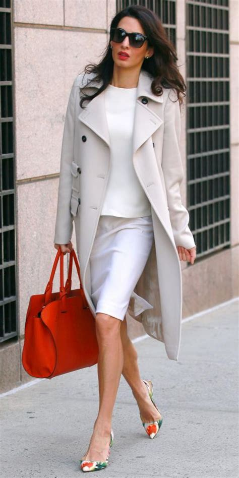 Find Working Styling by Amal Clooney S Sophisticated Chic Look Instyle