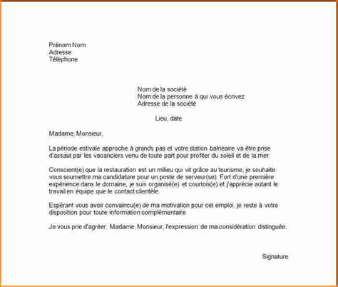 Exemple De Lettre De Motivation Etudiant 6 lettre de motivation pour 233 tudiant exemple lettres