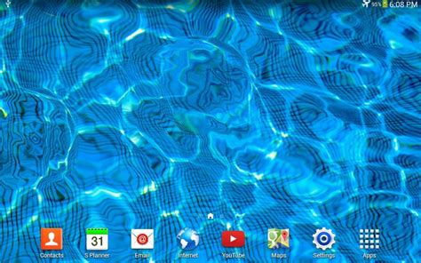 live wallpapers for android water drop live wallpaper for android