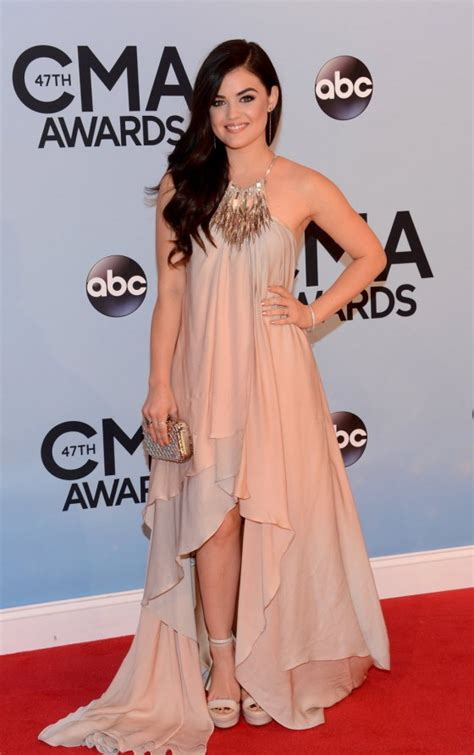 country music events in nashville 2013 lucy hale country music association awards 2013 02