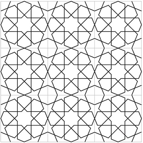 islamic pattern grid islamic geometric pattern gif mohamed ghilan