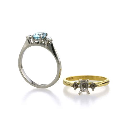 Titanium Engagement Rings by Remodelling Your Engagement Ring In Titanium Ti2