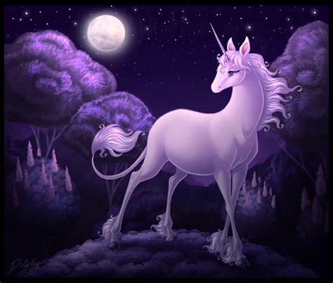 Rainbow Bedding For Girls by The Last Unicorn By Dolphydolphiana On Deviantart