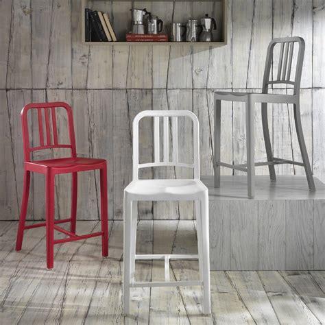 sgabello sedia sedia stones janet sgabello plastica moderno schienale