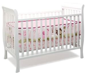 Middleton 3 In 1 Sleigh Crib White Walmart Toronto Baby Cribs Walmart Canada