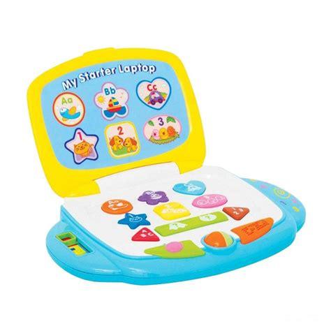 Winfun Win My Starter Laptop Anak Bayi Notebook Mainan Edukatif 10 jual winfun my starter laptop mainan anak harga kualitas terjamin blibli