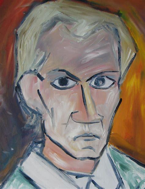 picasso paintings self portrait self portrait after picasso rossmann illustration
