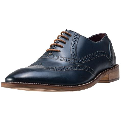 george shoes brogues george mens shoes in navy